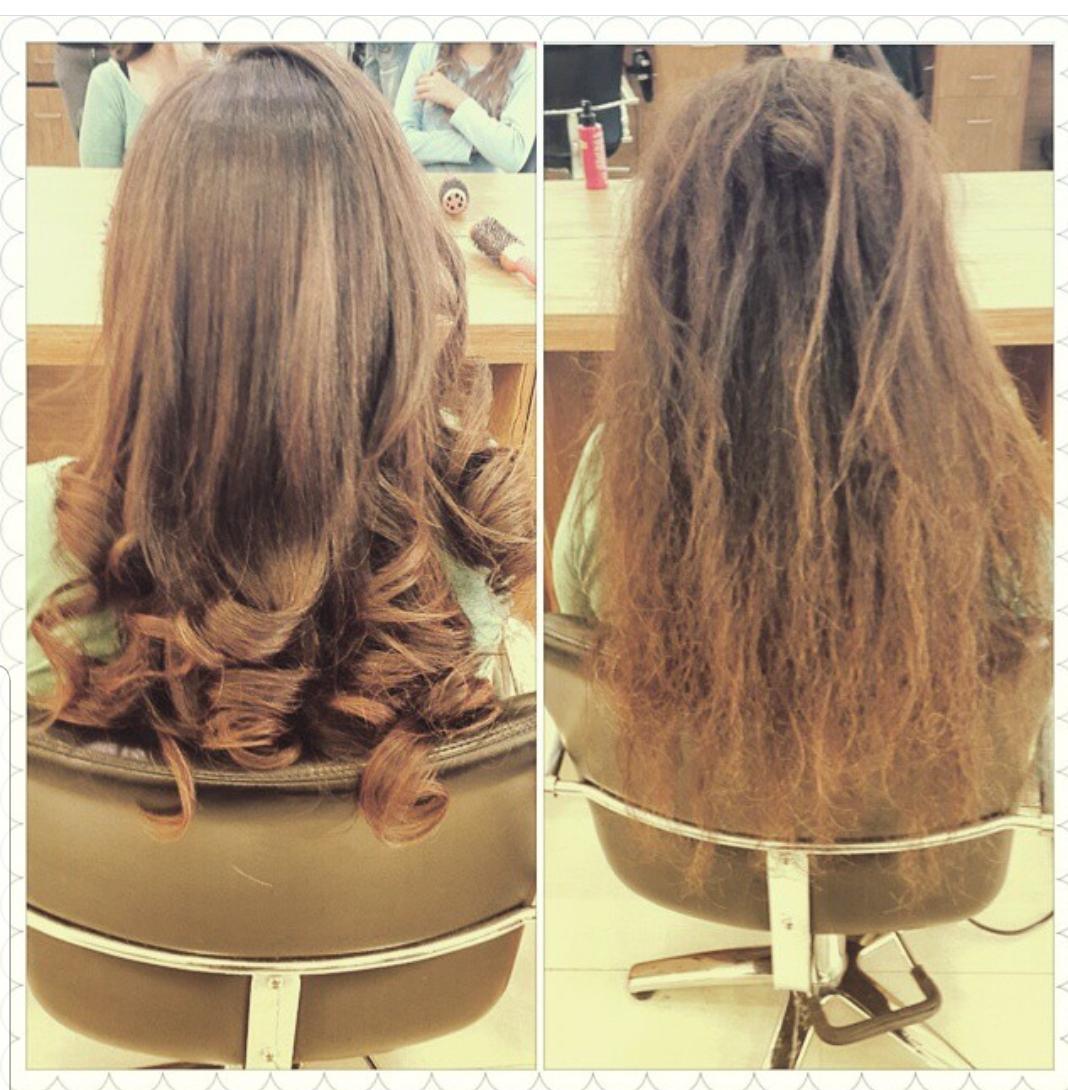 החלקת שיער מקצועית בקרית גת לורן עיצוב שיער