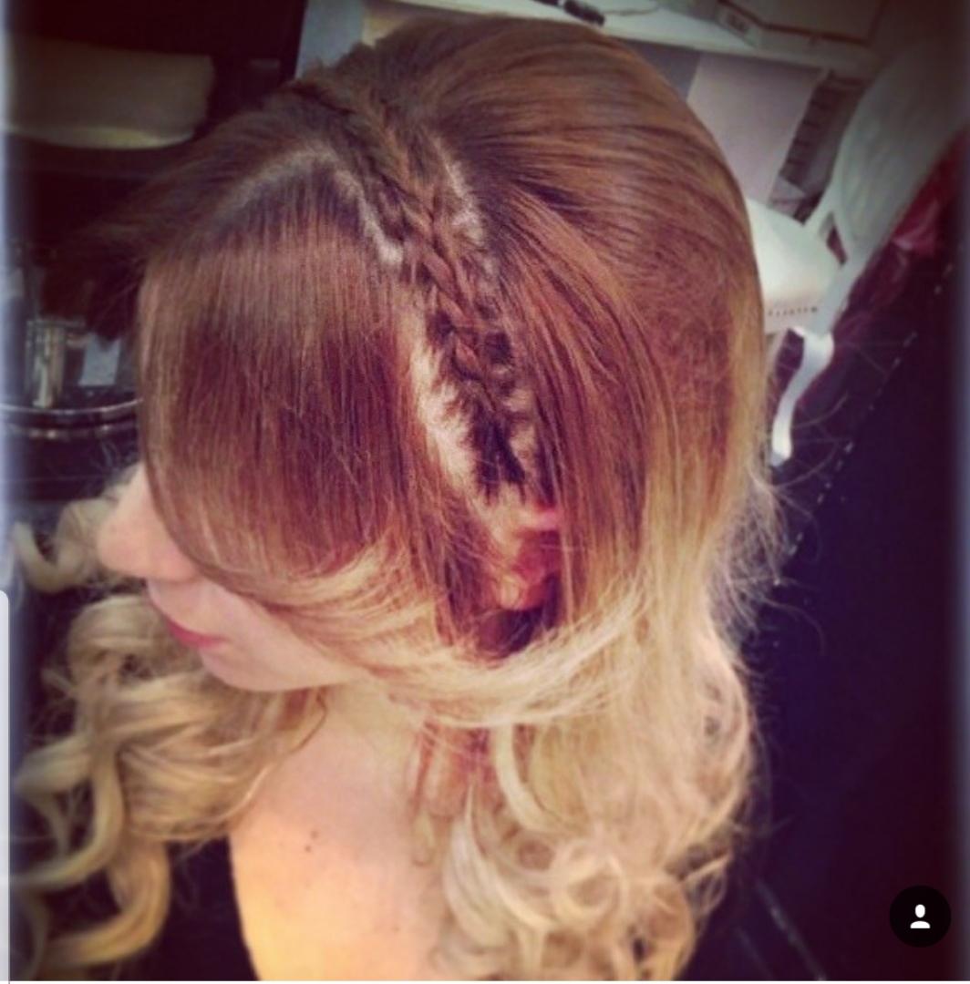 תסרוקת כלה לורן עיצוב שיער