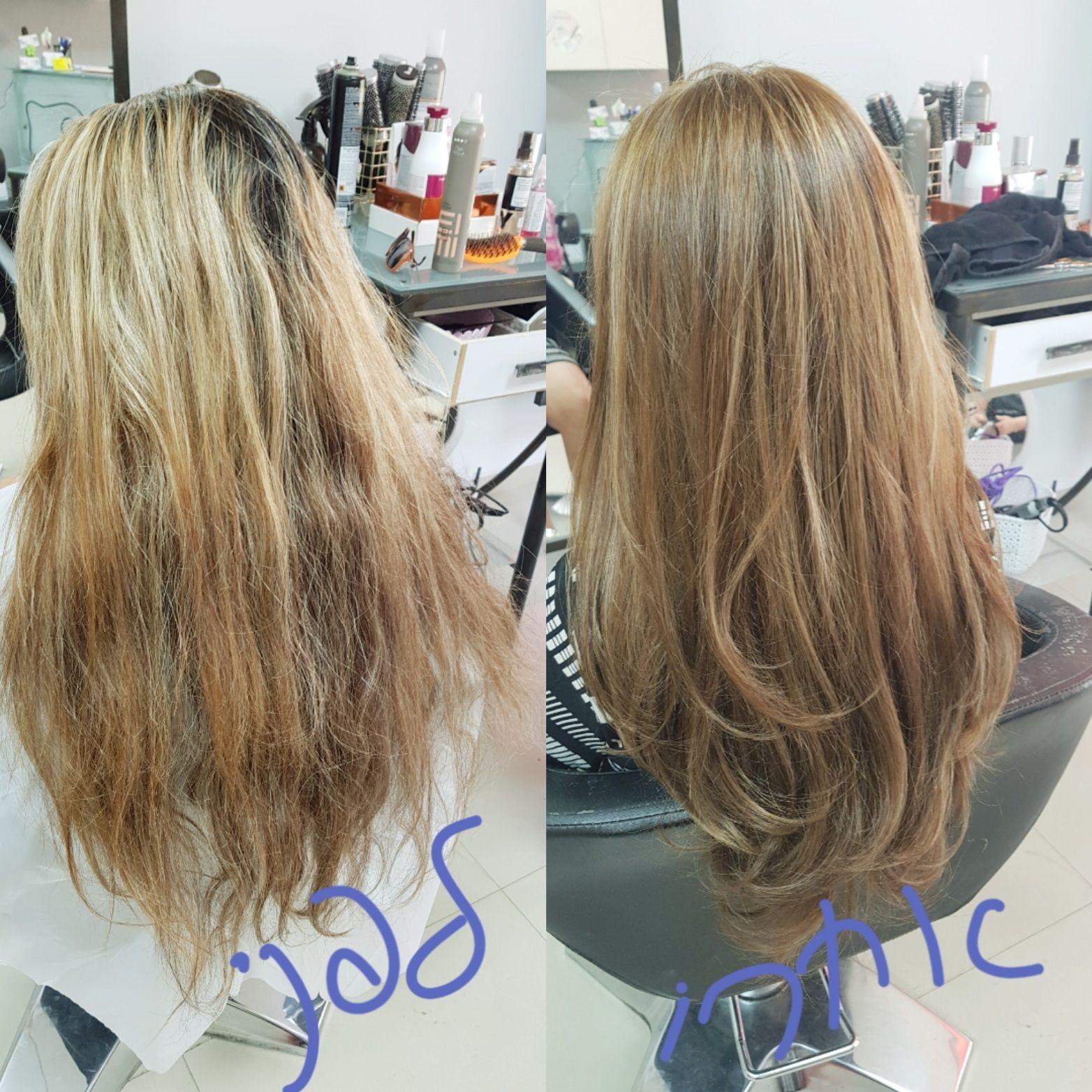 צבעי שיער טבעיים לורן עיצוב שיער קרית גת