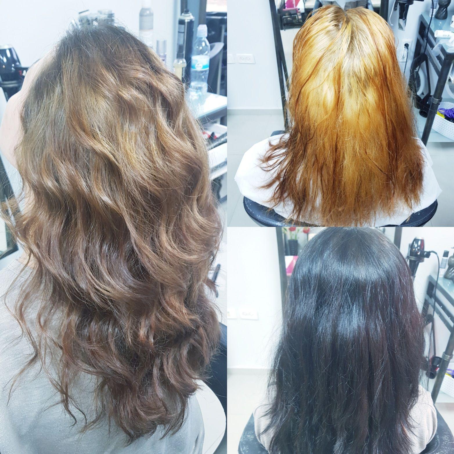 גוונים טבעיים לורן עיצוב שיער בקרית גת