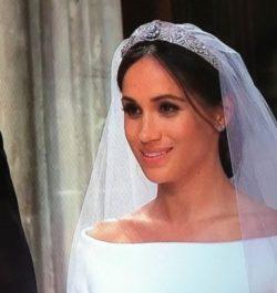 תסרוקת הכלה של מייגן מרקל בחתונה המלכותית