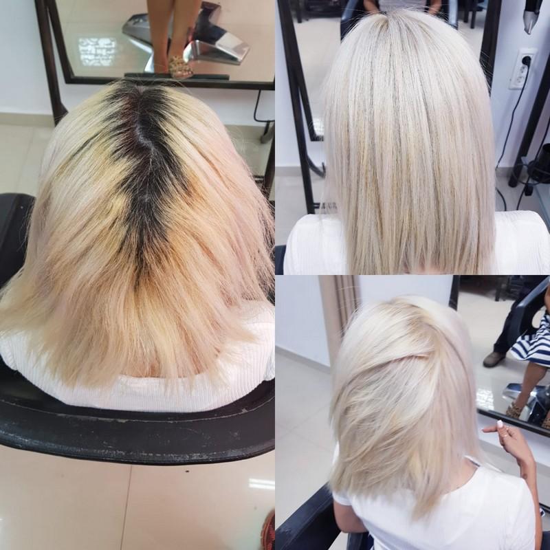 עיצוב שיער בקרית גת לורן הייר סלון