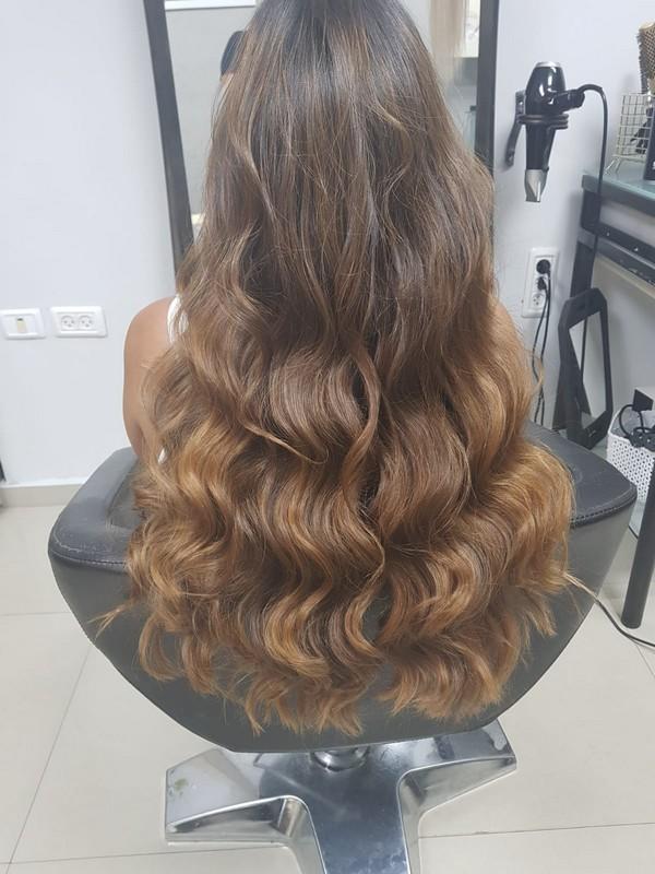 עיצוב שיער מקצועי לורן הייר סלון