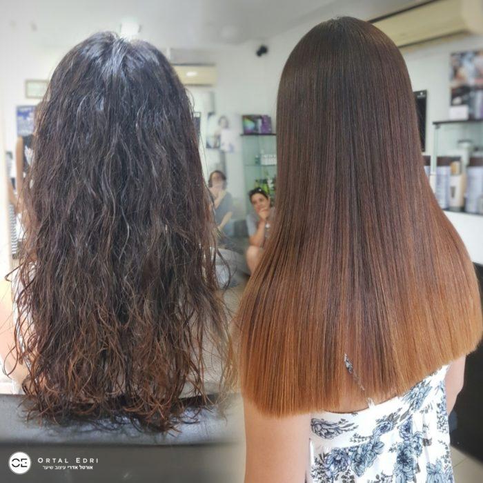 החלקה יפנית - מספרת אורטל אדרי - המרכז להחלקות שיער בעפולה