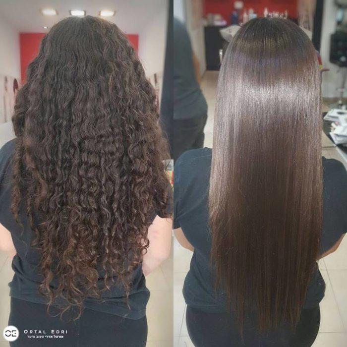 הפנינג החלקות שיער בעפולה - מספרת אורטל אדרי בעפולה