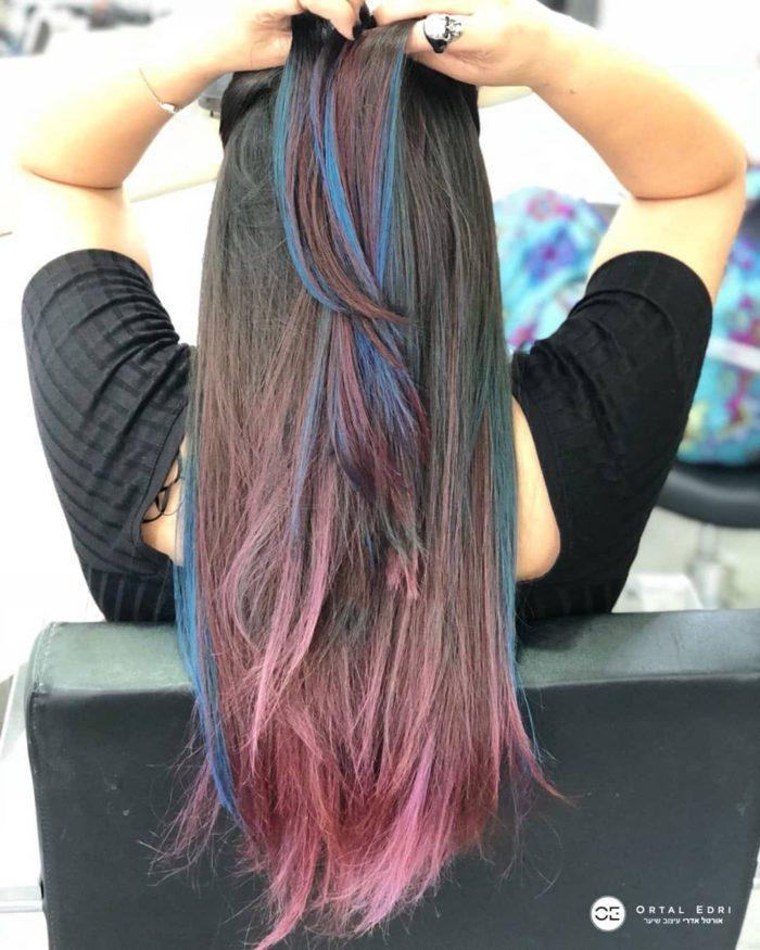 צבעי שיער פנטסטיים אורטל אדרי - המרכז להחלקות שיער