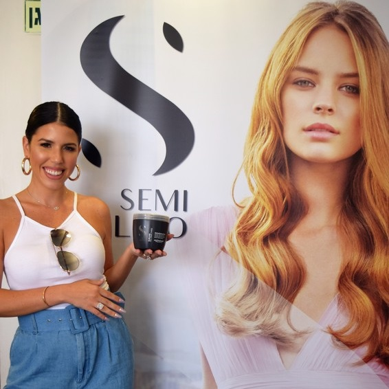 השקת מוצרי טיפוח לשיער SEMI DI LINO