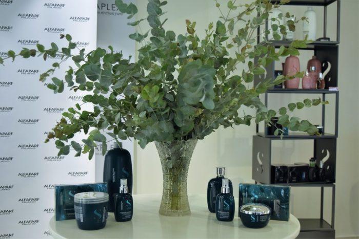 השקת מוצרי טיפוח לשיער SEMI DI LINO הסדרה הירוקה