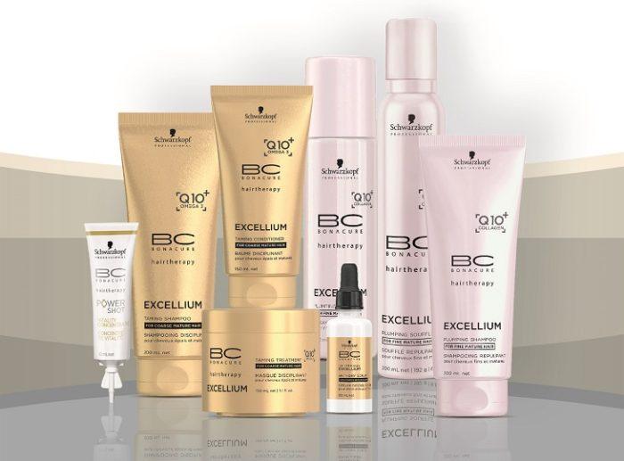 שוורצקופף פרופשיונל- סדרת- BC EXCELLIUM Q10 - קו המוצרים המומחה לכל סוגי השיער הבוגר