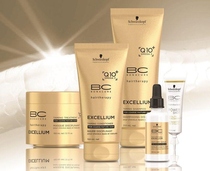 שוורצקופף פרופשיונל- סדרת BC EXCELLIUM Q10+ Omega 3 - לשיער בוגר גס