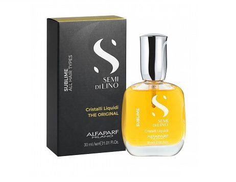 SUBLIME מוצרי טיפוח SEMI DI LINO - סרום למראה שיער זוהר לכל סוגי השיער
