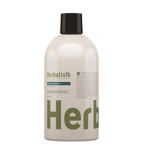 שמפו צמחי לשיער יבש על בסיס צמחי מרפא מבית Herbaliste