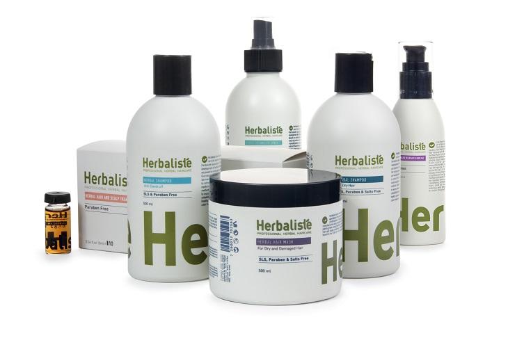 סדרת מוצרי טיפוח לשיער על בסיס צמחי מרפא מבית Herbaliste