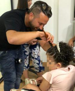 מעצב השיער רפאל אוסמו למען הקהילה