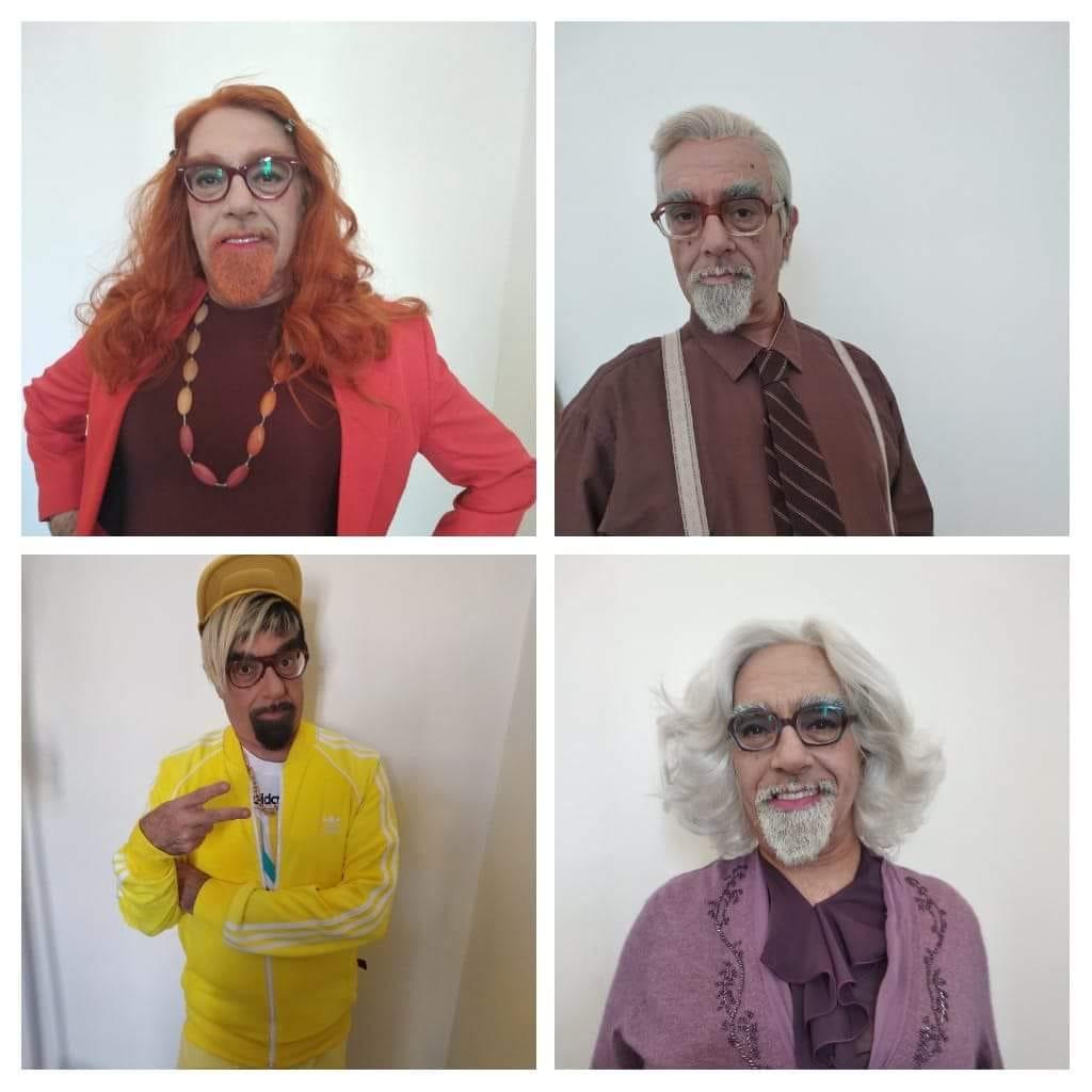 אהרוני צובע לאדום לקראת החגים - פאות להפקות - תוספות שיער - חברת רבקה זהבי