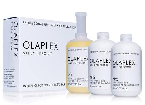 מערכת הטיפול המקצועית של OLAPLEX תכשירי שיער - No.1 & No.2