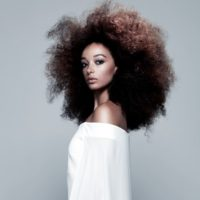afro - Hair: Kelly Angel for Craig Chapman Salon Photograohy: Barry Jeffery