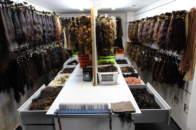 מבחר עצום של שיער אדם טבעי להתאמה מושלמת של תוספות שיער וטיפול בדלילות, יחצ (2)