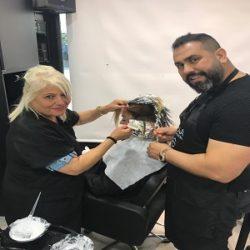 כיתת אומן עם מעצב השיער אבי ביטון באקדמיה של אינדולה בישראל