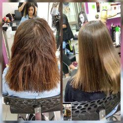 מרכז היופי והטיפוח סגול באור עקיבא – מבצע החלקות שיער