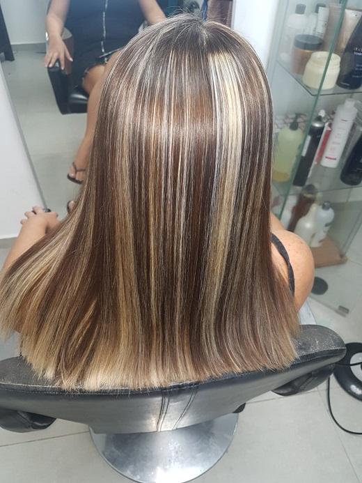 אחרי החלקת שיער  ז