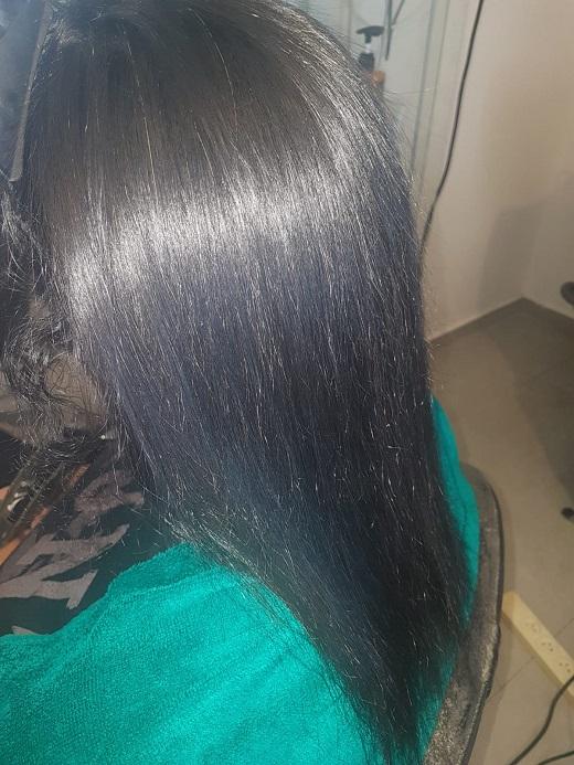 לפני - תוספות שיער בעכו