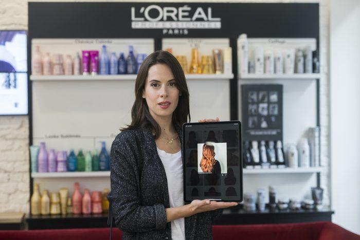 לוריאל פרופסיונל השקת אפליקציית שיער צילום יחצ