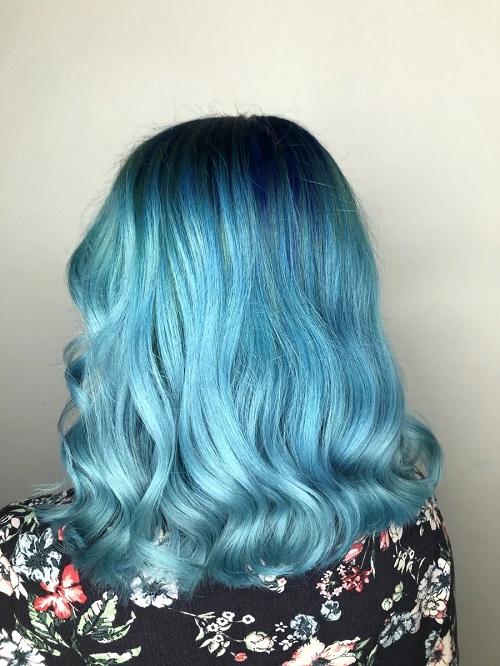 מראות שיער כחולים מספרד